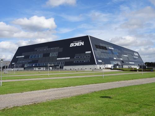 Jyske Bank Boxen, venue of the 2013 European SC Swimming Championships