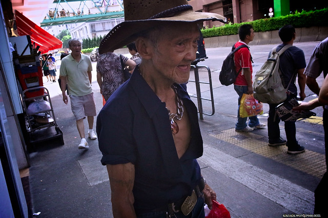 The Old Asian Cowboy
