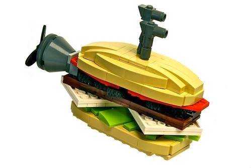Submarine Sandwich by Paul Vermeesch