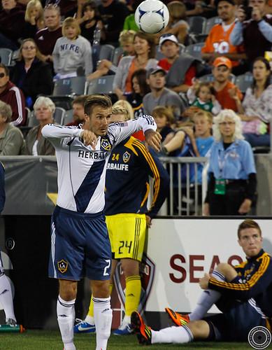 David Beckham, Colorado Rapids v LA Galaxy 1-1 Sept 30th 2012 by Corbin Elliott Photography