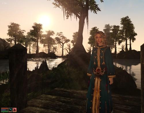 Dawn in Morrowind