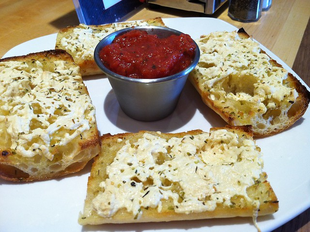 Vegan Garlic Cheese Bread