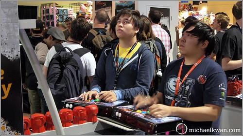 Justin Wong at PAX 2012
