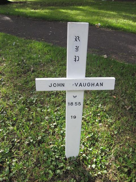 John Vaughan Jr Grave, Middlesbrough