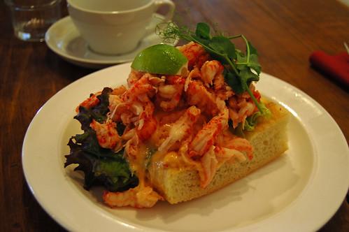 Crayfish Sandwich