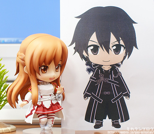 Nendoroid Kirito is coming up next