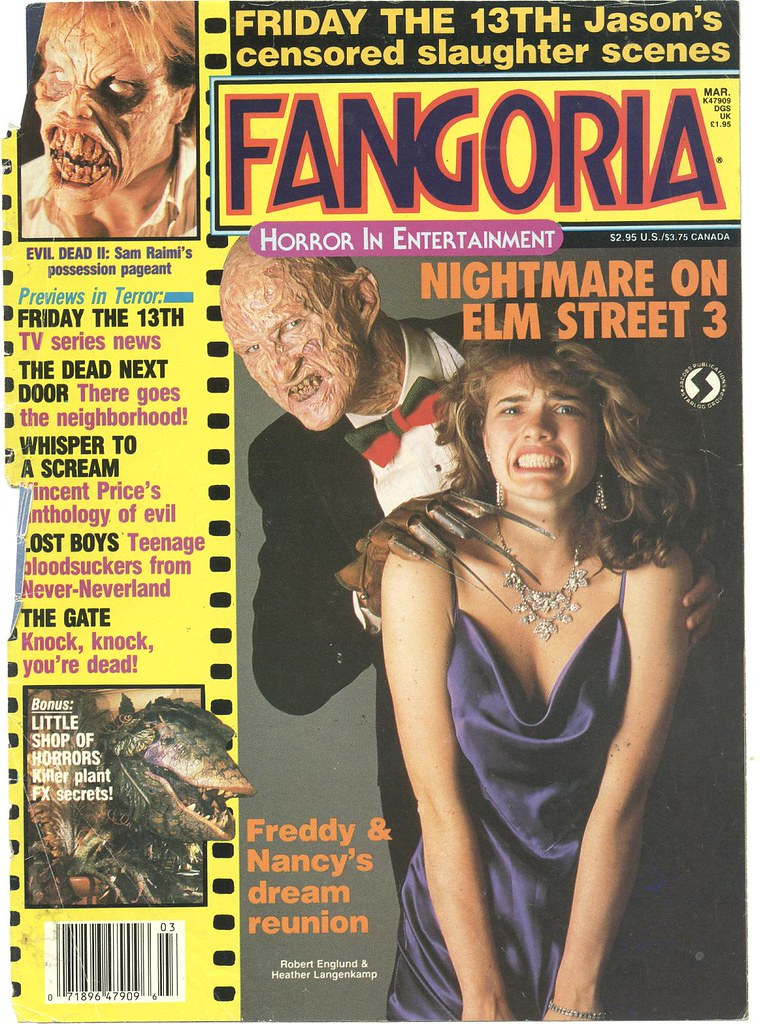 Fangoria #62 cover