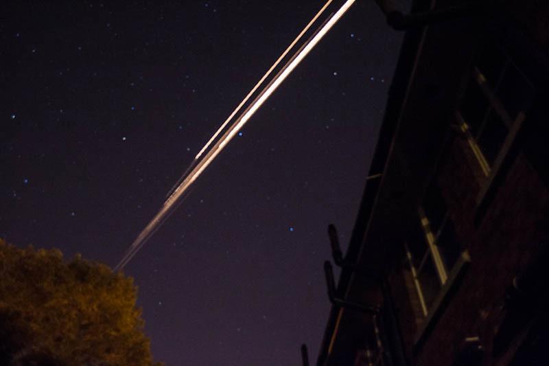 fireball or space debris