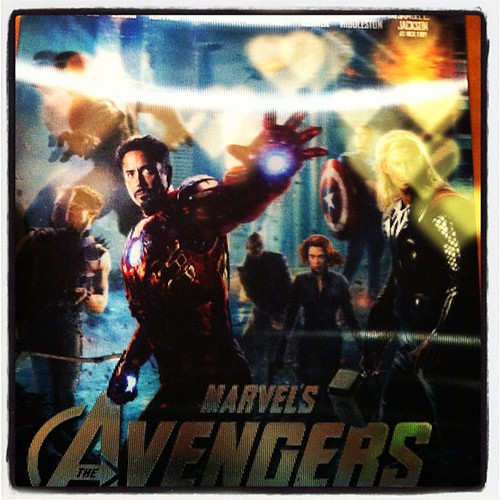 Watching this again with my littlest Avengers fan. Thanks #Amazon for delivering so fast!