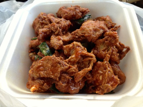 Soy Chicken Garlic with Special Sauce ($6.95)