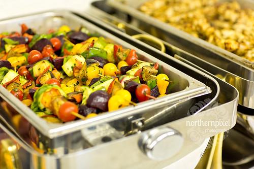Wedding Vegetables - Dinner Buffet