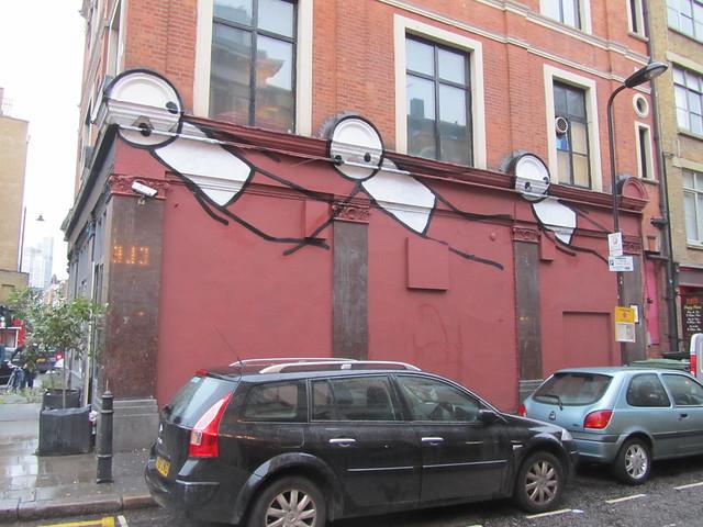 Stik, Hoxton Square
