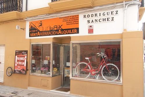 Tienda de Bicicletas en Córdoba en la calle de la librería Universitas.