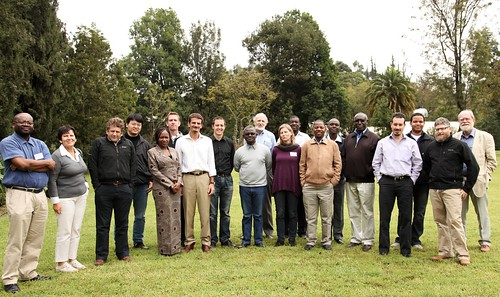 Group photo: Africa RISING M&E Expert Meeting participants