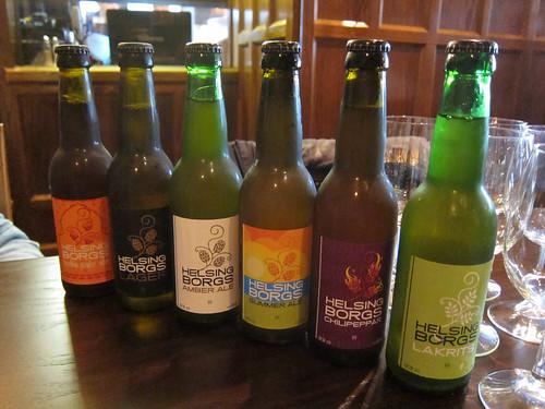 Beers from Helsingborg Brewery