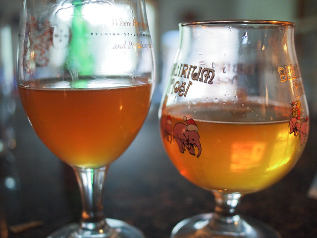 New Belgium Lips of Faith - Brett Beer VERSUS Lost Abbey Mo Betta Bretta