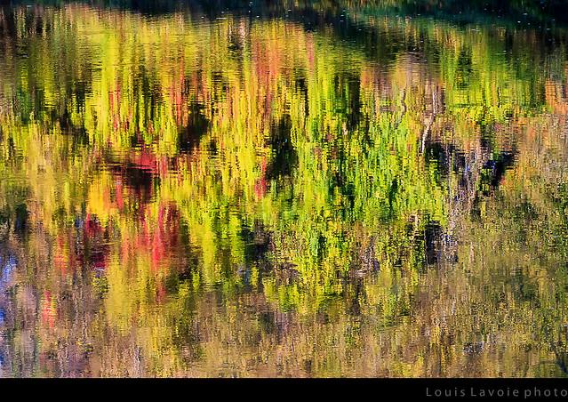 Reflet sur la rivière L'Assomption