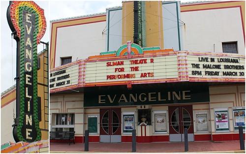 Evangeline Theatre, New Iberia LA