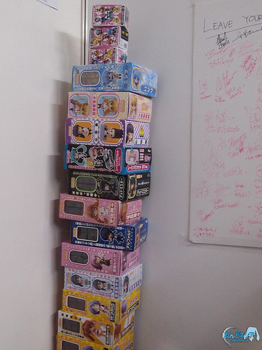 Nendoroid boxes stack