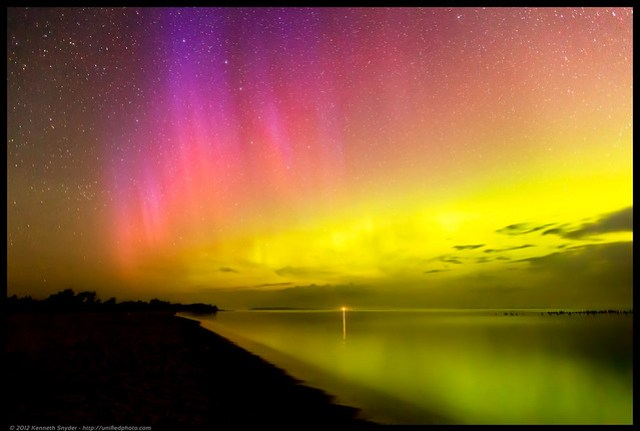 Sleeping Bear Bay Northern Lights
