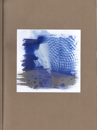 """Artists Book, """"Leylines"""" an art based inquiry. by Russell Moreton"""