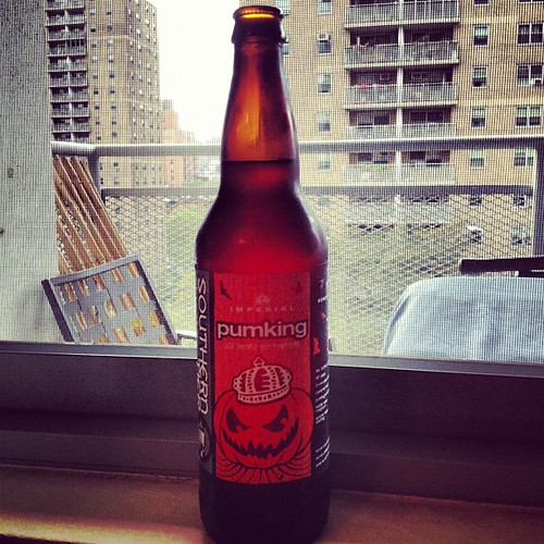 Southern tier pumking. Beer number 3.