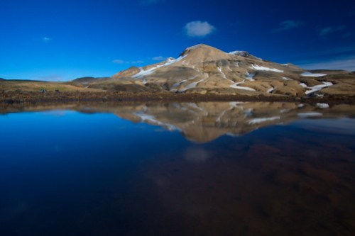 Reflections at Kerlingarfjöll