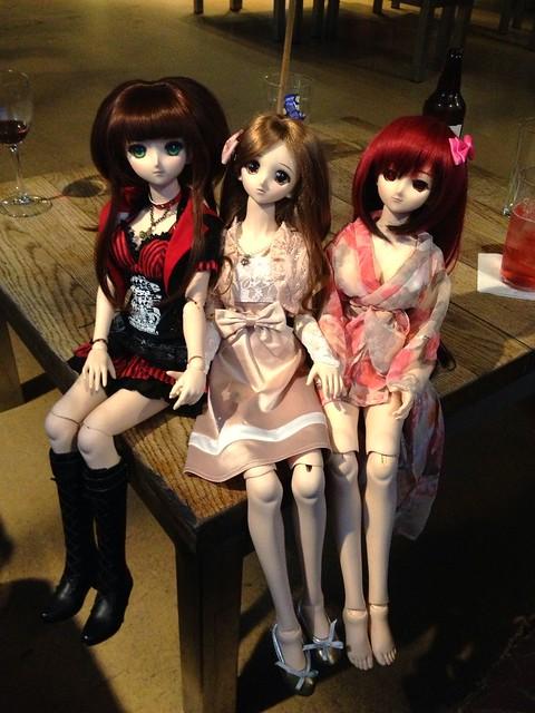 Sid, Yukino and Tamaki