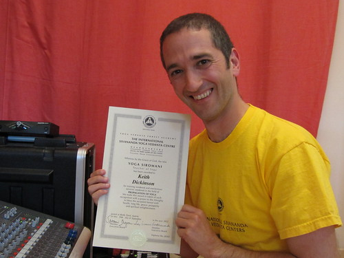 me and my new qualification