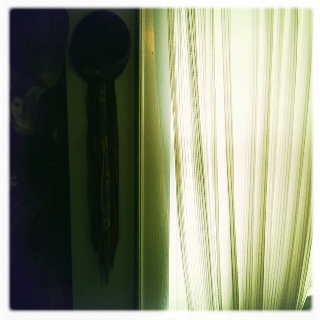 morning window in bedroom