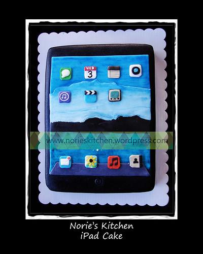 Norie's Kitchen - iPad Cake by Norie's Kitchen
