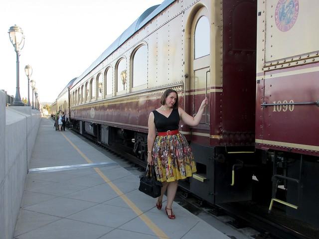 All aboard the Wine Train! (Photo by Pat Zimmerman.)