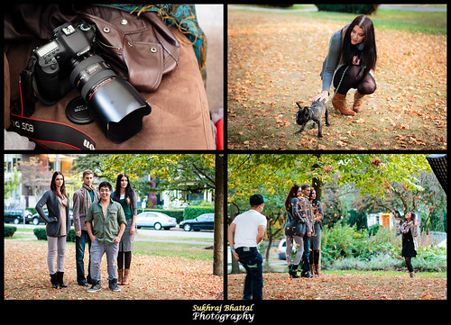Day 632 - Behind the Scenes of a Fall Fashion Photoshoot by SukhrajB