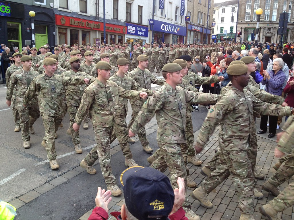 Yorkshire Regiment – Huddersfield Homecoming Parade
