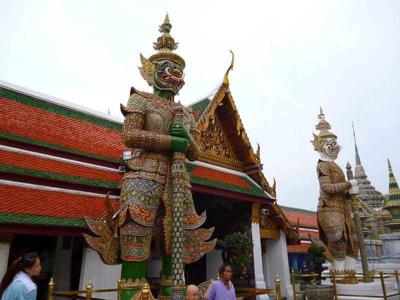 Guardian at Bangkok's Grand Palace