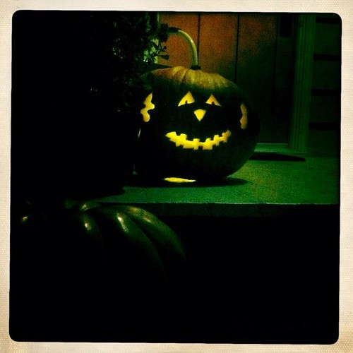 smiley pumpkin by telfandrea
