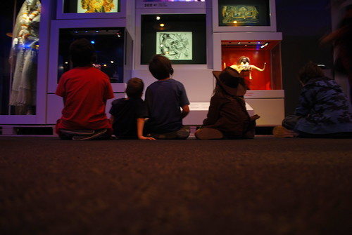 boys watching temple of doom scenes