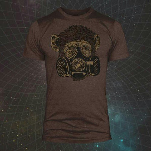 """I have 3 designs featuring my artwork at@joeroganexperience 's Higher-Primate.com #DigIt """"Dept. Of Health and Welfare"""""""
