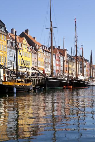 Denmark, Copenhagen, Nyhavn Canal