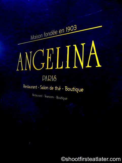 Angelina at Galeries Lafayette