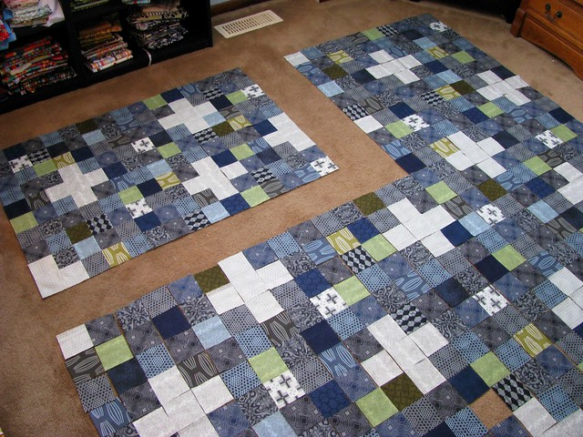 Dad's Quilt, Started