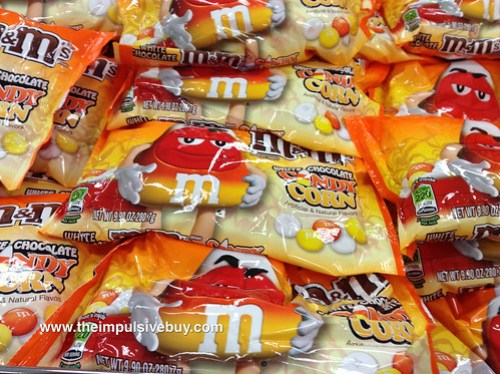 White Chocolate Candy Corn M&Ms