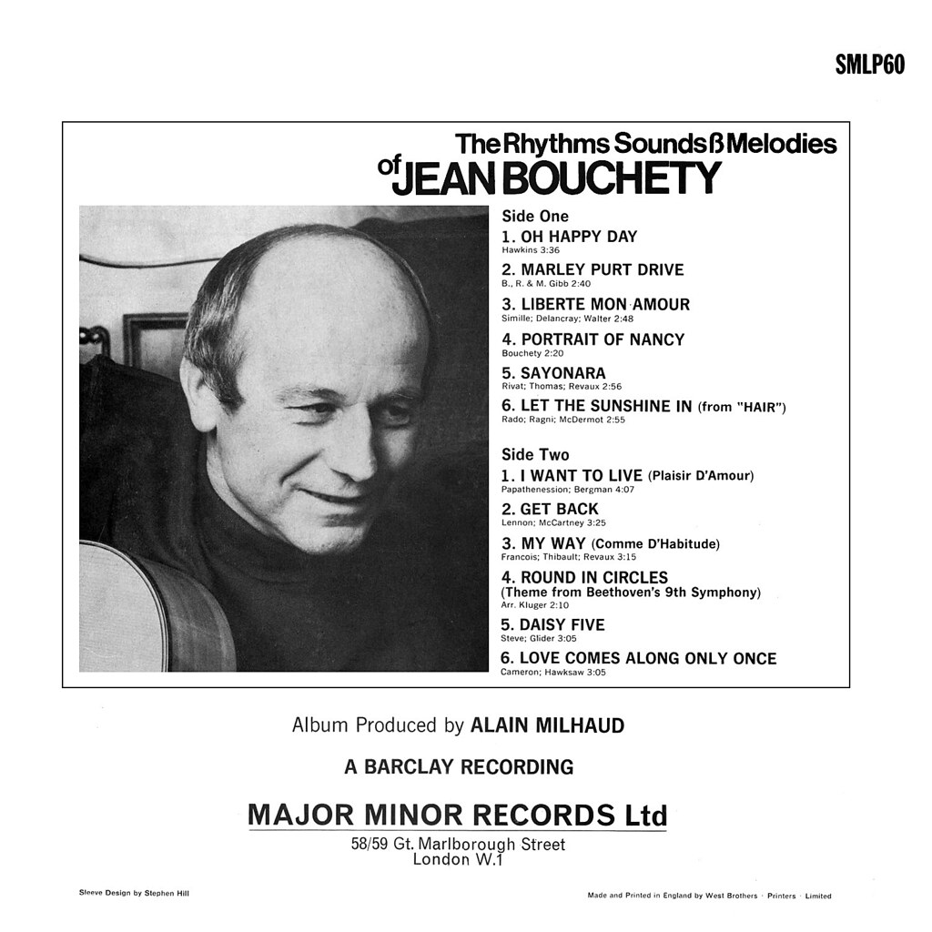 Jean Bouchety - The Rhythm Sounds & Melodies of Jean Bouchety