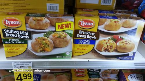 Tyson Stuffed Mini Bread Bowls