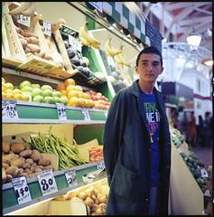 Fruit Vendor | The Lunchtime Portraits