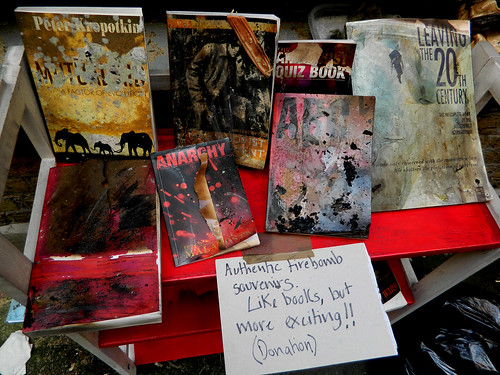 Our bookselling team gets creative
