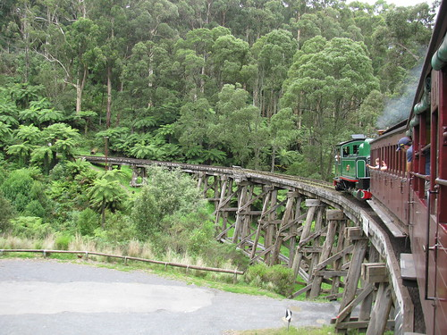 Puffing Billy by holidaypointau