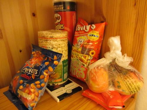 the naughty snack corner