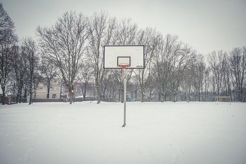 No Basket. Only Snow (Grivegnée, Belgique) - Photo : Gilderic