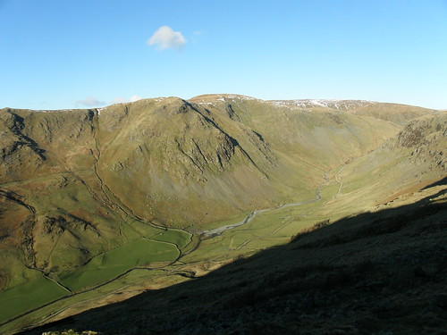 Goat Scar, Kentmere Pike and Longsleddale